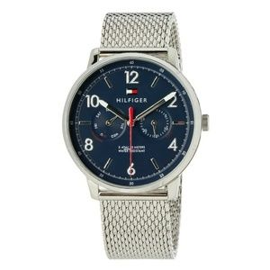 Tommy Hilfiger Men's Watch Silver Stainless Steel